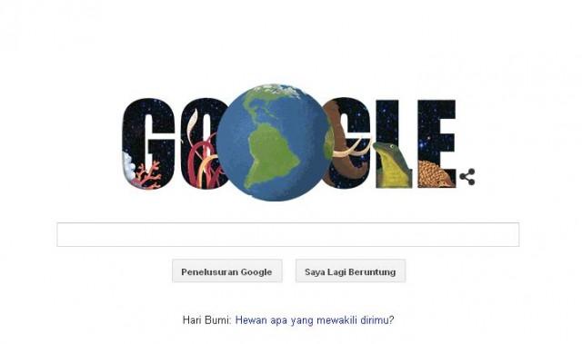 Ikuti Kuis Hari Bumi di Google Hari Ini!