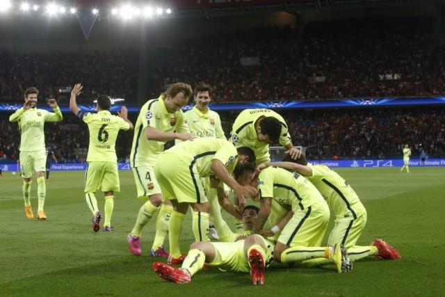 PSG vs Barcelona 12