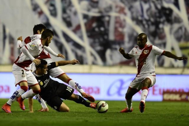 Rayo Vallecano vs Real Madrid 1