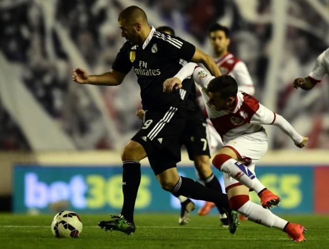 Rayo Vallecano vs Real Madrid 3