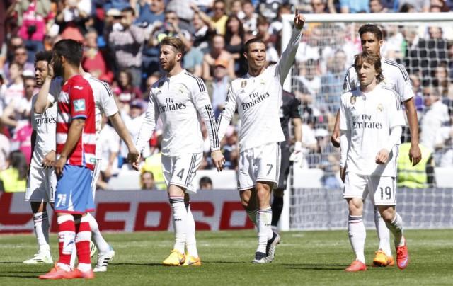 Real Madrid vs Granada 1