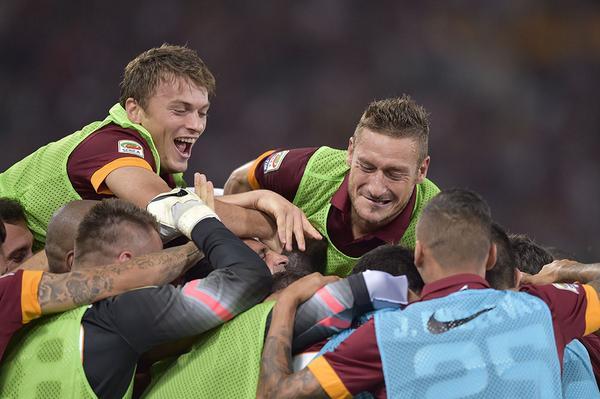 Roma 2-0 Hellas
