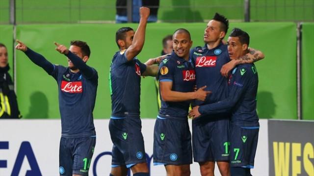 Wolfsburg vs Napoli 2