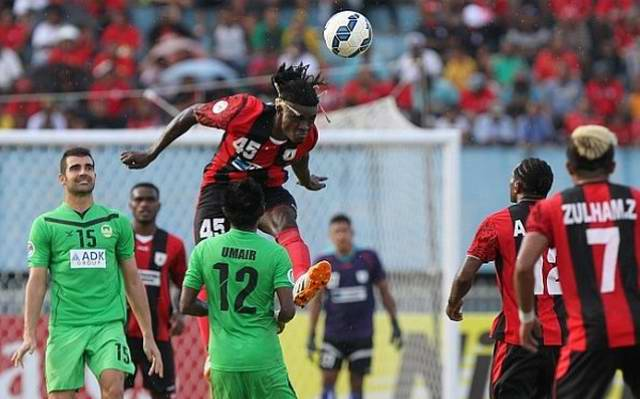 persipura maziya afc cup 2015 bio paulin