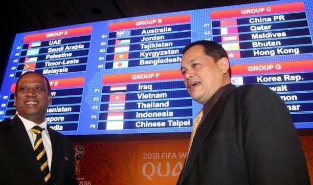 piala dunia world cup 2018 piala asia 2019 drawing