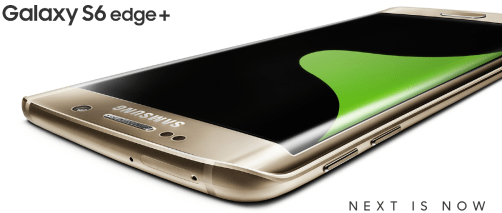 samsung galaxy s6 edge+ next is now