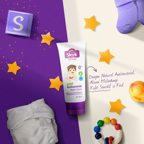 Diaper Cream Bayi Sleek Baby