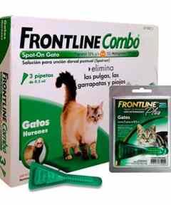 Antiparasitario Frontline Combo SpotOn Gatos