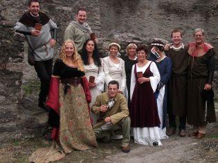 Gruppe Mittelalter, Marktbesucher