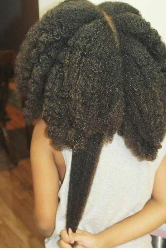 Comment faire pousser ses cheveux crépus