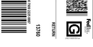 Prepaid return label