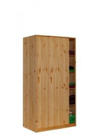 massivholz kleiderschrank mit schiebetren - Bestseller ...