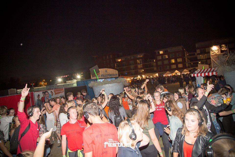 HBO Intro silent disco festival Den Bosch