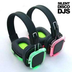 SDDJS HP2 Silent Disco Draadloze Hoofdtelefoon