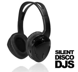 SDDJS HP3 Draadloze Silent Disco hoofdtelefoon