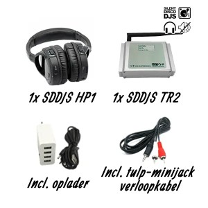 SDDJS TP1 Silent Disco Testpakket