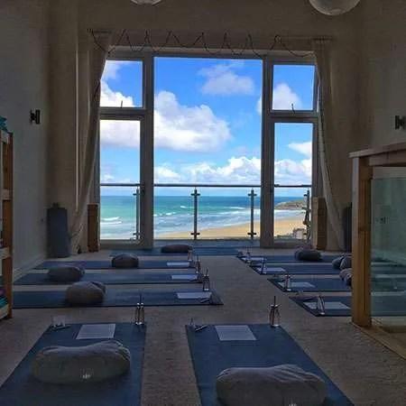 Oceanflow Yoga Studio in Newquay Cornwall