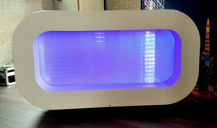 DJ Booth Oval Led