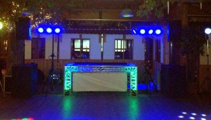 DJ booth meubel truss constructie