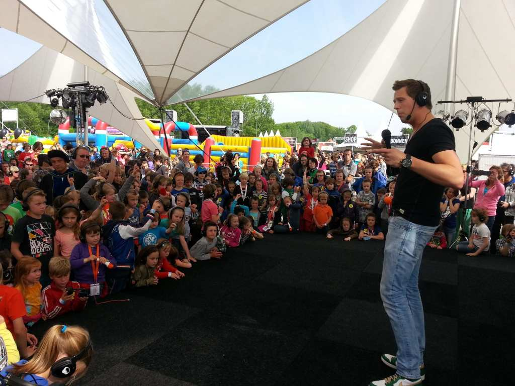 Freek Vonk Masterclass - congres silent disco workshop