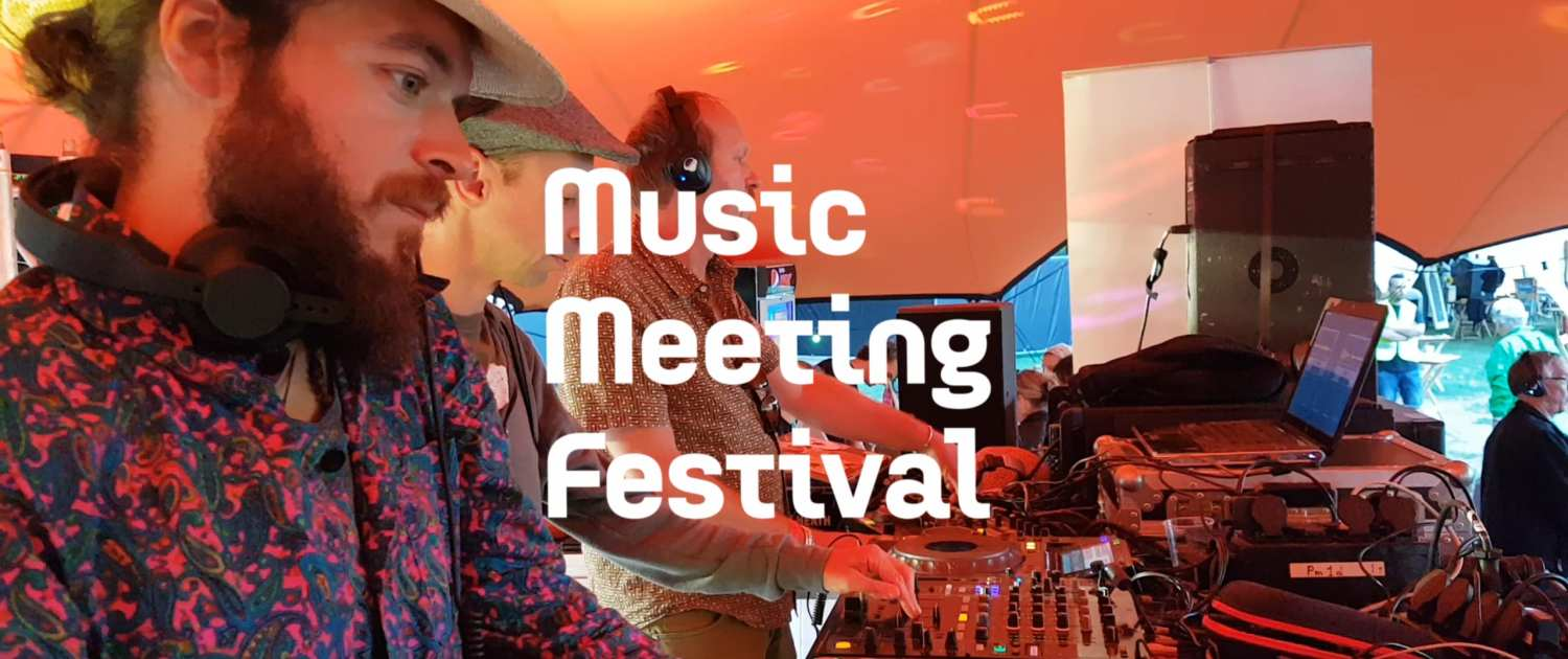 Music Meeting 2017 silent disco Mellow stage