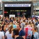 gehoorbeschadiging Silent oplosing festivals Bevrijdingsfestival