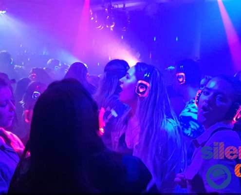 studenten silent disco feest