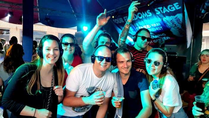bevrijdings festival zeeland silent disco