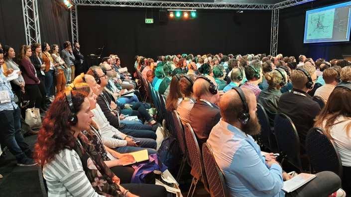 volle lezingen zalen big data expo en beurs presentaties