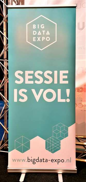 big data expo sessie is vol