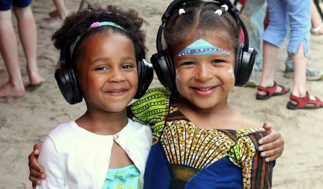 silent disco koptelefoons kinderen kids