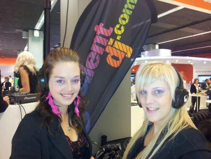 silent disco girls onderwijs congres
