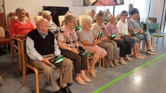 senioren silent disco voorbereiding