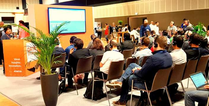 silent conferences session