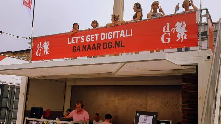 silent disco 4daagse Nijmegen Burgemeester nacht editie - woensdag 19 juli 2017 | www.SilentDJ.com