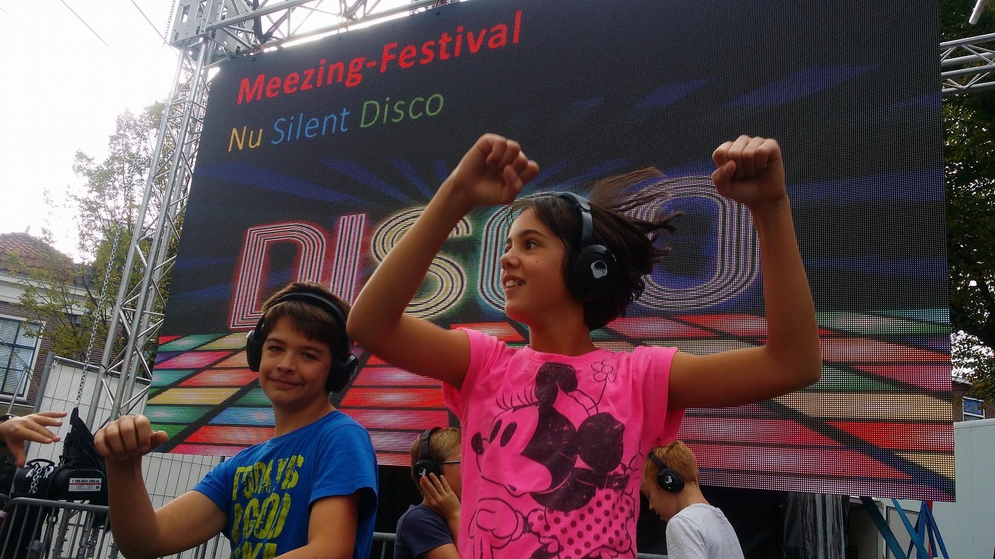 Silent disco feest @ 3 Oktober-viering Leids ontzet
