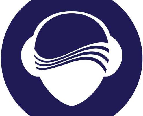 silent disco logo head SilentDJ.com