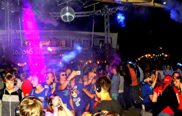 silent disco studentenvereniging intro feest studenten   SilentDJ.com