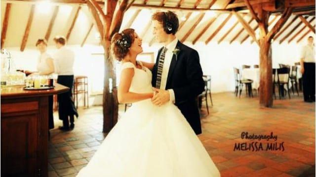 silent disco trouwen bruiloft wedding
