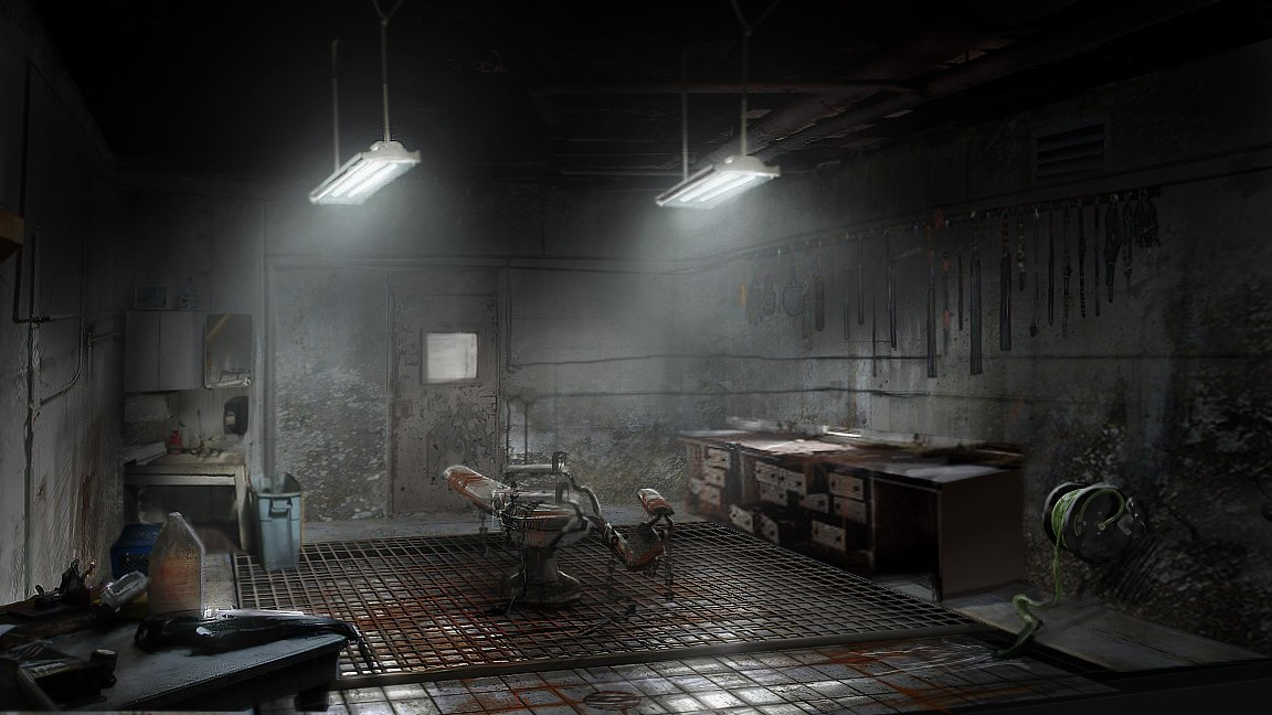 Silent Hill Homecoming Concept Art Misc  Silent Hill