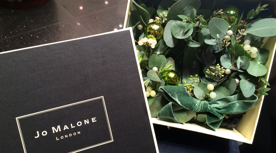 Jo Malone - Christmas Wreath Making Class