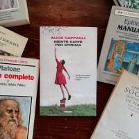 """""""Niente caffè per Spinoza"""" di Alice Cappagli: delicato ed emozionante"""
