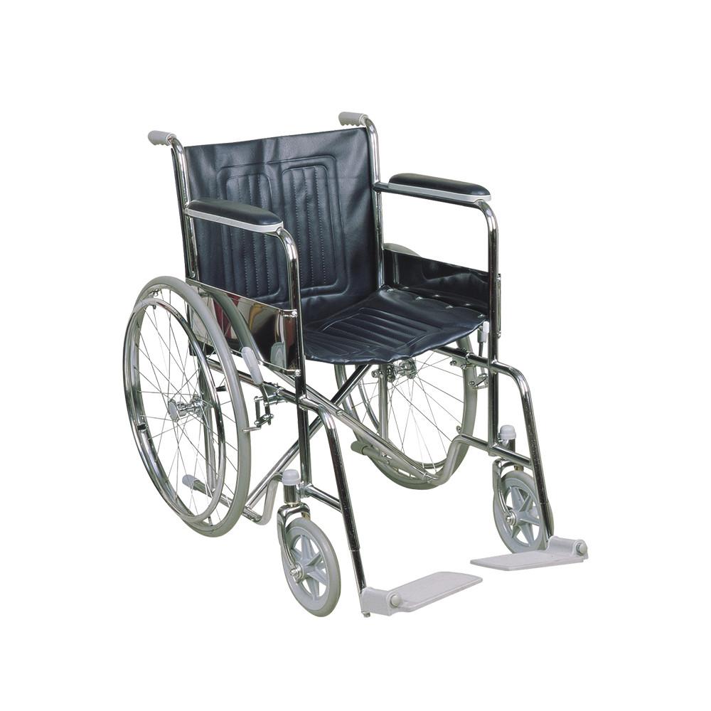 Silla de ruedas STANDARD FIJA ANCHO 46 cm Hasta 100 kg