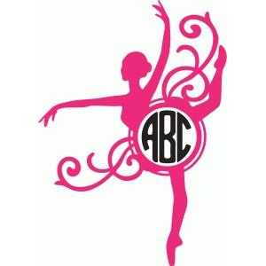 Silhouette Design Store View Design #83600 Ballerina