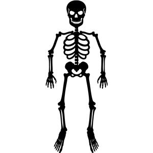 Silhouette Design Store View Design #4830 Skeleton