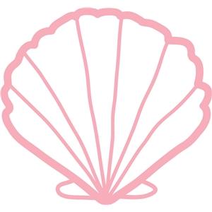 Silhouette Design Store View Design #10440 Scallop Shell