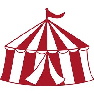 Silhouette Design Store View Design #25150 Circus Tent