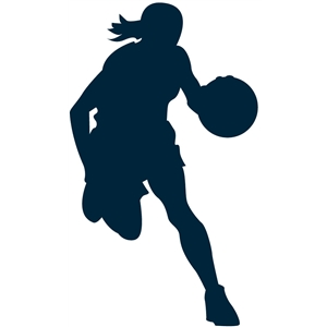 Silhouette Design Store View Design 16380 Basketball Girl