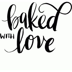 Download Silhouette Design Store - View Design #87981: baked with love
