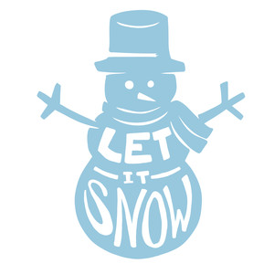 Silhouette Design Store View Design #233212 Let It Snow